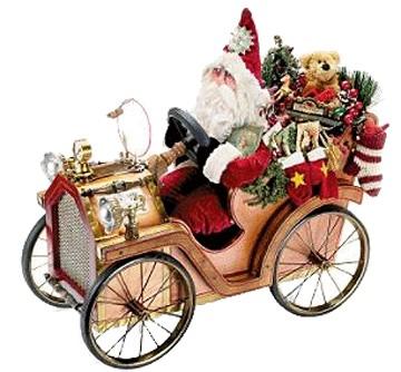Santa's Jolly Jalopy