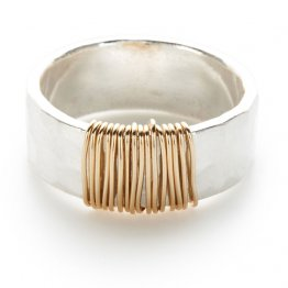 Sterling 14kt Goldfilled Wrapped Ring
