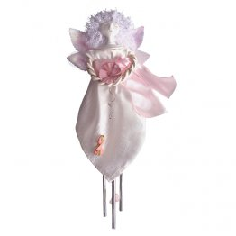 Breast Angel Cancer Solar Chime