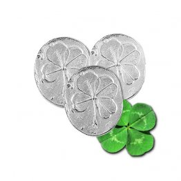 Four Leaf Clover Pocket Charms Bulk 50 Piece