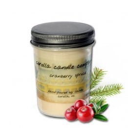 Cranberry Spruce Soy Candle