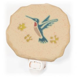 Hummingbird Nightlight Blue