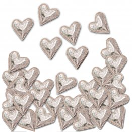 ♥ Hearts Pocket Charms Bulk 50 Piece ♥