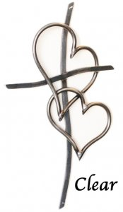 Walk in Love Cross Unity Wall Cross | 3 finishes 2 sizes