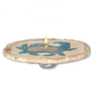 Crab Stone Oil Lamp Candle rock candle,