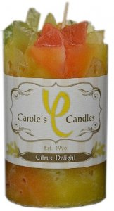 Citrus Delight Candle Slow Burn